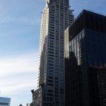 Chrysler Building from corner room.