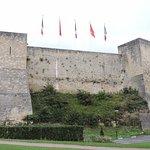 Caen's walls