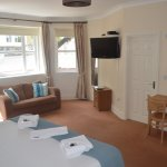 Spacious and family friendly rooms