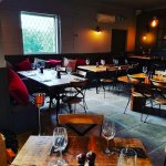Our Restaurant set and ready for a busy service