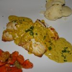 Red Snapper mit Curry