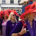 The London Redhatters are in town today.