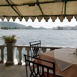 Beautiful view of the lake from the restaurant