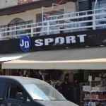 Innovative copyright infringement in neighbouring Hisaronu - JD Sports