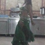 Belly Dancing at the hotel