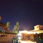 Het heerlijke bovenste zwembad van Belvedere Hotel incl een vallende ster