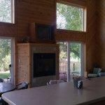 Apartment/Cabin kitchen family area