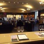 Bar area in tasting room