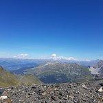 randonnée du col de la Chambre avec vue sur le Mont Blanc