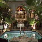 Fine Moroccan gastronomy and romantic meals at Riad Monceau Marrakech