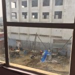 Construction site with too much noise