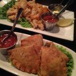 Empanadas and Calamari