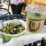 Quinoa Bowl and Iced Tea