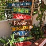 North South West East... El Machico Hostel Panama City