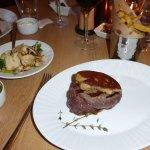 Filetsteak mit Foie gras