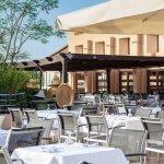 jolie terrasse du restaurant une merveille