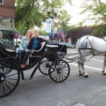 Downtown Bend pick-up for Cowboy Carriage