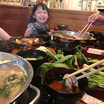 "New open hot pot, Shabu Shabu. With the concept ""HEALTHY FOOD"" With the homemade house special s"