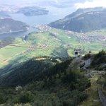 CabriO - Mount Stanserhorn, Lucerne Switzerland Foto