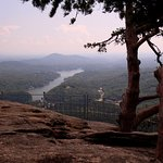 View from atop Chimney Rock State Park