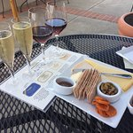 Sparkling Wine Sampler & Cheese Plate