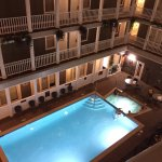 Great top floor turret room - really enjoyed the pool. Great place to stay!!!
