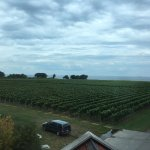View of the Konzelmann winery from upstairs