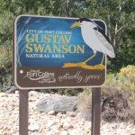 Sign at Swanson Natural Area