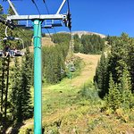 Choose the chair lift for spectacular views