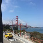 Drive by Golden Gate, no stop here