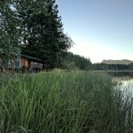 Lake and two bedroom cabin