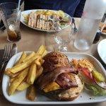 Le classique mais l'indémodable, l'intemporel : baconcheeseburger