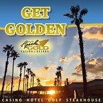 Sunset at Apache Gold Casino & Resort.