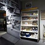 Berlin, Museum in der Kulturbrauerei, shop in the DDR