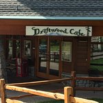 The Driftwood Cafe near the theater.