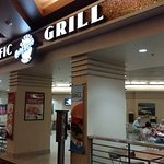 Pacific grill dining area