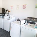 laundry and ice machine room