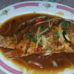 Whole spicy fish, a dish to die for!