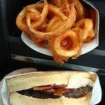 Sourdough Jack Burger & Curly Fries