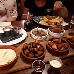 A selection of some of the tapas