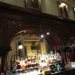 Fabulous old wood bar!