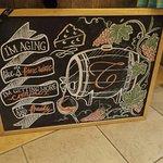 Chalk board wisdom