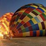Preparação do balão