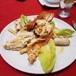 The Sorrisi Grilled Lobster/Shrimp & Calamari Dinner