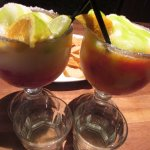 Maui Margaritas with DeKuyper Cactus Juice