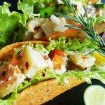 roasted potato salad taco usually offered on Taco Tuesday