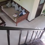 View from staircase