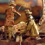 Colorado Artisan Buddy Townsend creates 3-D metal sculptures from scratch in Golden Gate Canyon