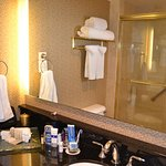 Great shower and fantastic amenities