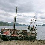 Derelict trawler at Ardgour